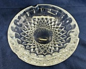 Vintage Waterford Large Heavy Colleen Pattern Cigar Ashtray - 3 lbs 7 ozs