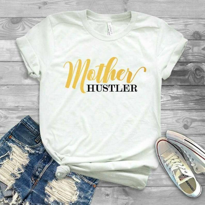 Hustler Women/'s Black T-Shirt Cool Graphic Tee 100/% Cotton S-XL