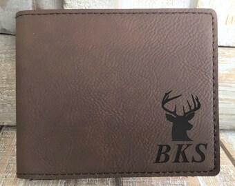 Men Women Western Rodeo Wallet Deer Buck Hunting Camo Studs Pick Color