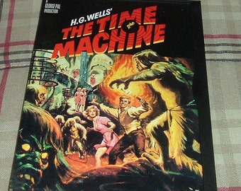 The Time Machine 1960 DVD