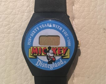 Mickey Mouse 60th Anniversary digital watch- Disneyland