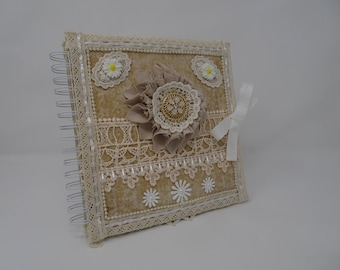 Lace Mixed Media Journal