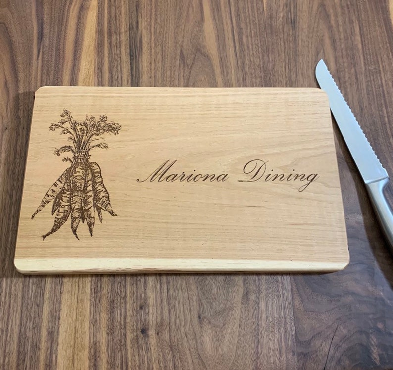 Personalized Cutting Board Bridal Shower Gift Gift for Her. Custom Chopping Block