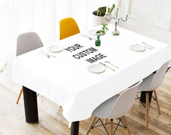 Marvelous Custom Tablecloth Etsy Home Remodeling Inspirations Cosmcuboardxyz