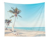 Surf Boards On The Beach Tapestry Beach Tapestry Surfer Tapestries Beachy Tapestries Beach Bum Tapestries Surfer Tapestries Surfer Art