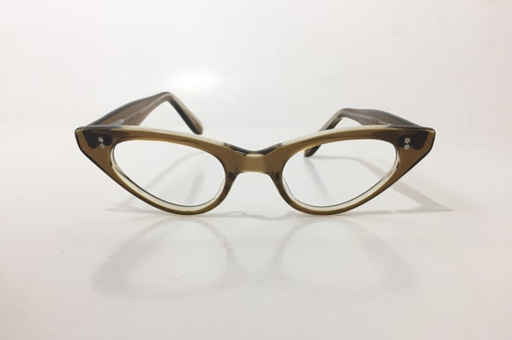 af81c33a4f Vintage 60s Cat Eye Glasses Frames NOS Swank Frame France