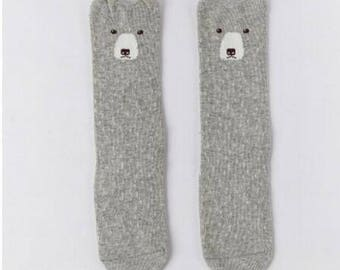 Knee-High Socks - Cloud Bear