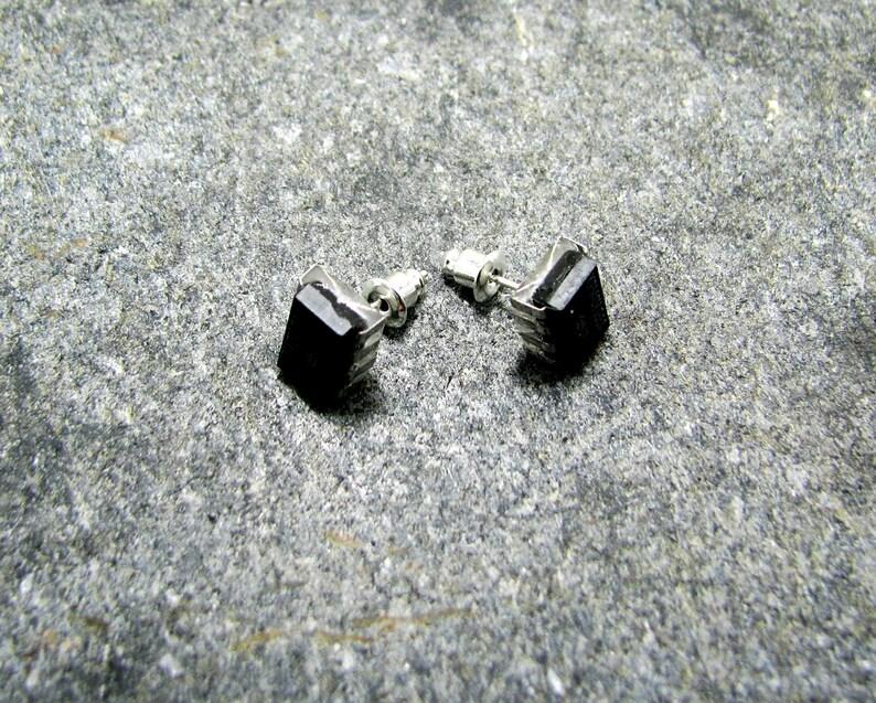cyberpunk Microchip computer jewelry earrings post apocalyptic electronic earrings geek jewelry recycled hardware