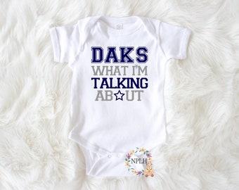 Dallas Cowboys Dem Boys Baby Short Sleeve Bodysuit
