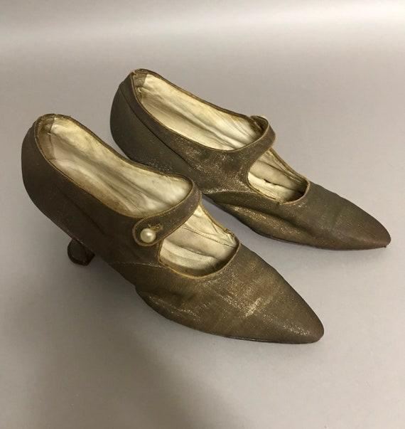 Antique Ladies Edwardian Shoes