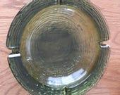 Anchor Hocking Soreno avocado green ash tray