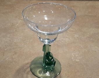 Cactus and gringo stemmed margaritas glass