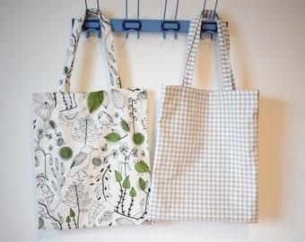100% printed cotton tote bag