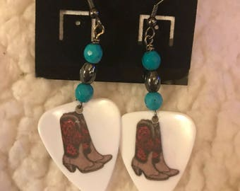 Guitar Pick Earrings