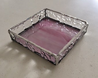 Accessory Tray Pink 2 glass BayView