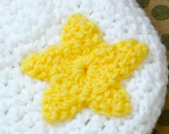Star Applique | Crochet Pattern | Star Applique Crochet Pattern | Easy Crochet Star Pattern | Crochet Star Applique Pattern | PDF Pattern
