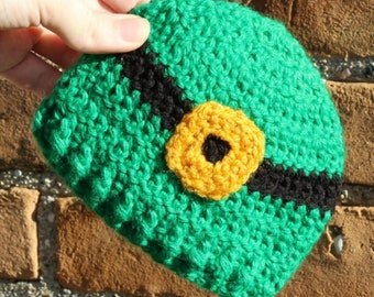 a07f588dd7c Preemie Newborn Leprechaun Hat