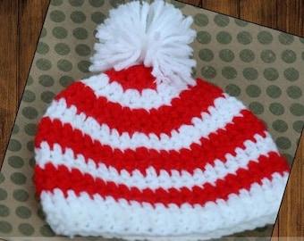 Preemie Newborn Landon Hat | Crochet Landon Hat Pattern | Baby Landon Hat Crochet Pattern | Newborn Baby Crochet Hat Pattern | PDF Pattern