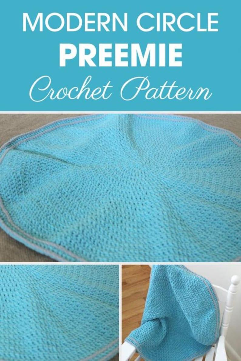 Hunter Preemie Blanket Baby Blanket Crochet Pattern Etsy