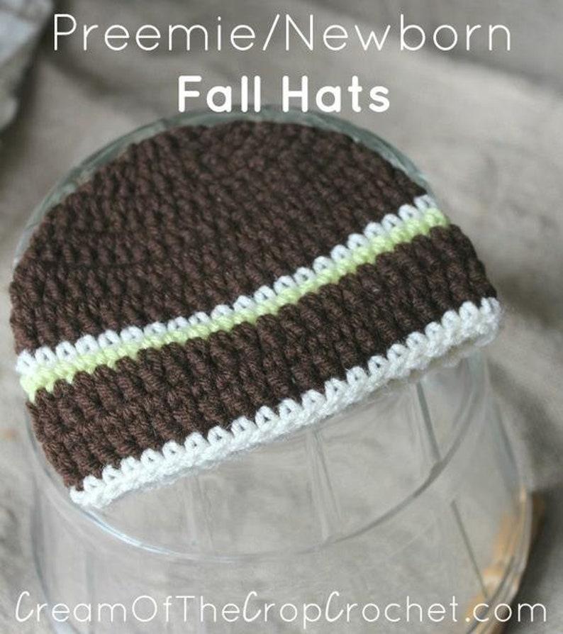 Preemie Newborn Noah Hat Crochet Noah Hat Pattern Baby Etsy