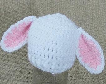 Preemie Newborn Lamb Hat   Crochet Lamb Hat Pattern   Baby Lamb Hat Crochet Pattern   Newborn Baby Crochet Hat Pattern   PDF Pattern