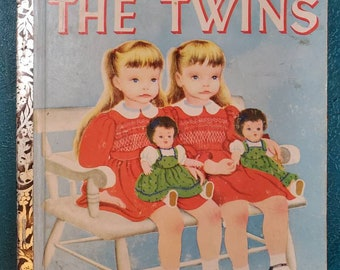 Little golden book the twins 1955 A 1st edition
