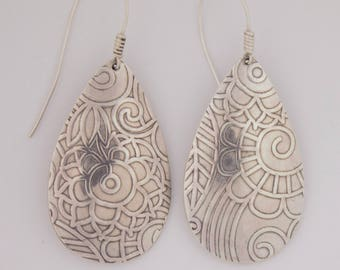 Emory Silver Studio *Sterling Silver Earrings Handcrafted*