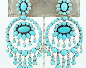 Emory Silver Studio *Sleeping Beauty Turquoise Earrings*