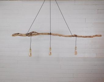 Nice branch chandelier with vintage bulb holder