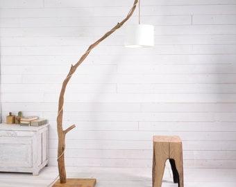 Big tree branch floor lamp