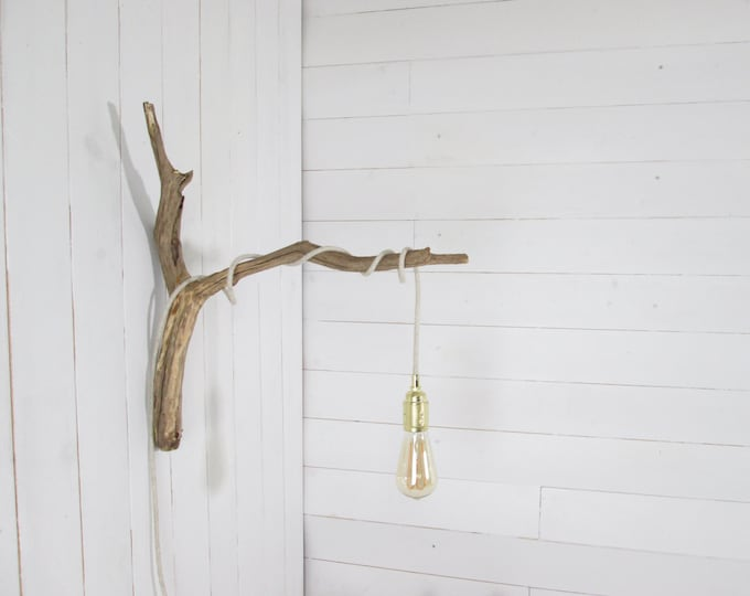 Large branch for hanging light