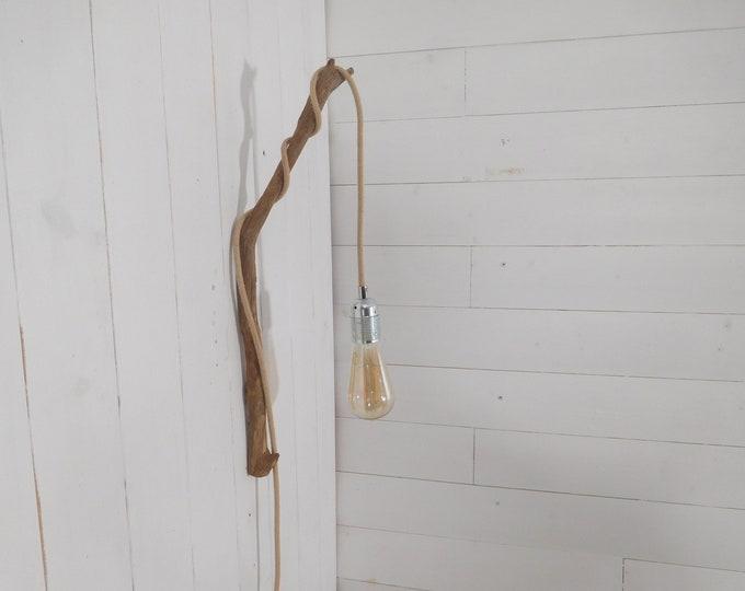 Small branch hook, branch decor, wall hanging light