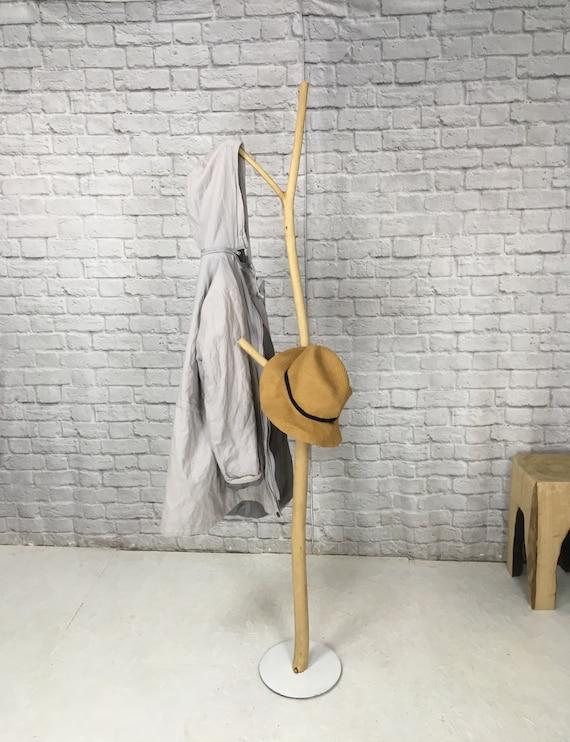 Natural wood coat hanger, clothes hanger, driftwood hanger