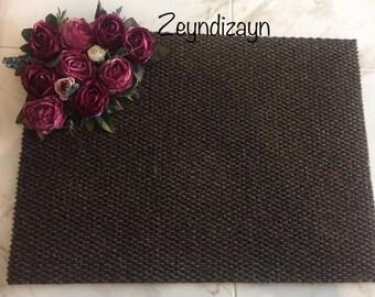 Handmade Door Mat
