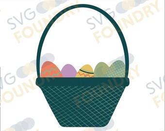 Easter Basket SVG/DXF