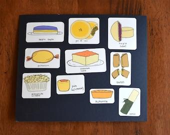 Filipino Food Stickers (set 3)