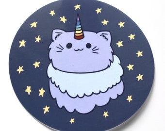 Unicorn cat sticker -- cat -- sticker