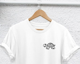 df27a9cc turtle Shirt turtle t-shirt - Unisex or Womans Shirt - Funny turtle Lover  Shirt, turtle pocket shirt turtle gift