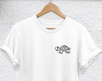 1bfdba8c3181e5 turtle Shirt turtle t-shirt - Unisex or Womans Shirt - Funny turtle Lover  Shirt