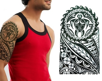 Polynesian Tattoo Etsy