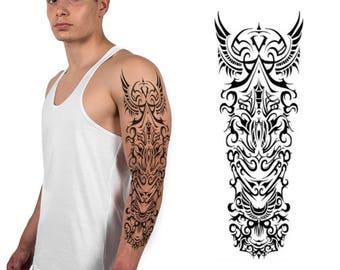 Angel Wings Cross Temporary Tattoo Set Of 4 Crucifix Etsy