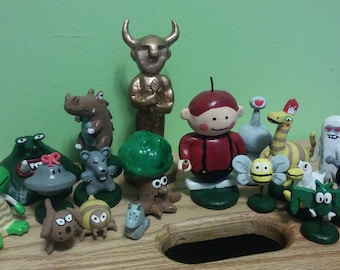 Earthbound Clay figures #2