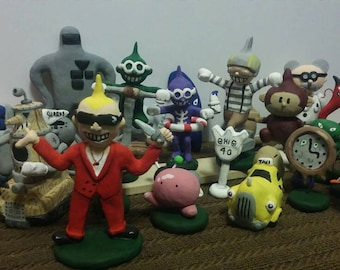 Earthbound Clay Figures