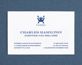 Printed name cards custom made business cards personalised etsy printed name cards custom made business cards personalised professional calling cards business stationery night reheart Images