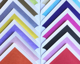 Coloured Lined Envelopes (Add on Feature)