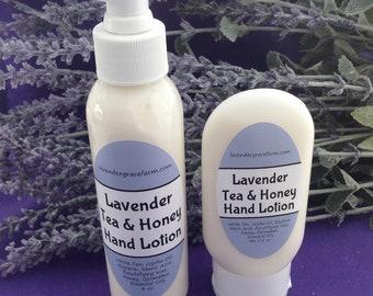 Lavender Tea & Honey Hand Lotion