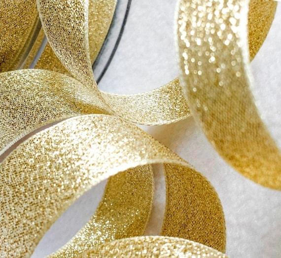 10m Brillo Metálico Lame Berisfords esencial Cinta Craft 40mm X 5m