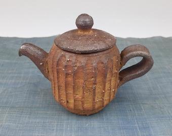 Handmade Korean Natural Glazed Ceramic Teapot