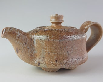 Handmade Korean Salt Glaze Teapot