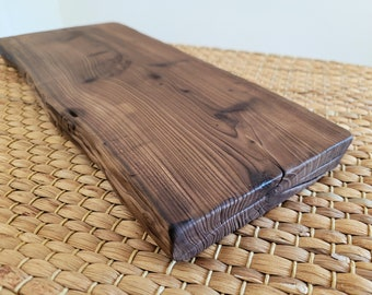 Handmade Korean Juniper Tree Rustic Wooden Tray for Tea Ceremony, Gong Fu Cha